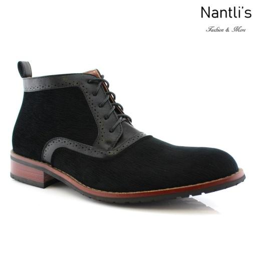 Zapatos para Hombre FA-ANDRE Black Mayoreo Wholesale Men's Fashion Shoes Chukka Boots Nantlis
