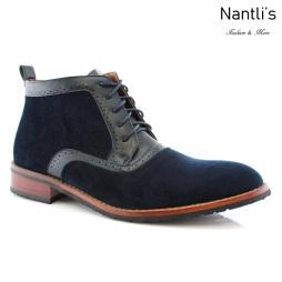Zapatos para Hombre FA-ANDRE Blue Mayoreo Wholesale Men's Fashion Shoes Chukka Boots Nantlis