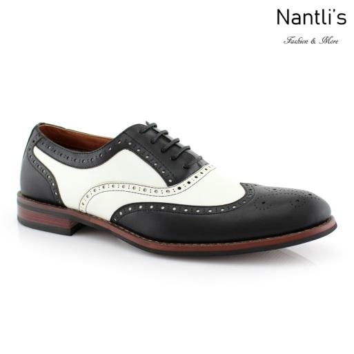 Zapatos para Hombre FA-ARTHUR Black Mayoreo Wholesale Men's Fashion Shoes Nantlis
