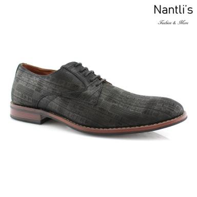 Zapatos para Hombre FA-ASHTON Black Mayoreo Wholesale Men's Fashion Shoes Nantlis