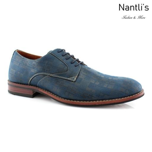 Zapatos para Hombre FA-ASHTON Blue Mayoreo Wholesale Men's Fashion Shoes Nantlis
