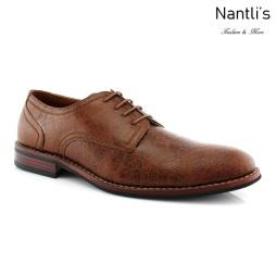 Zapatos para Hombre FA-ATTICUS Brown Mayoreo Wholesale Men's Fashion Shoes Nantlis