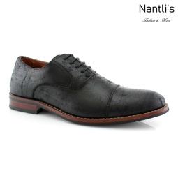 Zapatos para Hombre FA-AUBREY Black Mayoreo Wholesale Men's Fashion Shoes Nantlis