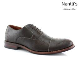 Zapatos para Hombre FA-AUBREY Brown Mayoreo Wholesale Men's Fashion Shoes Nantlis