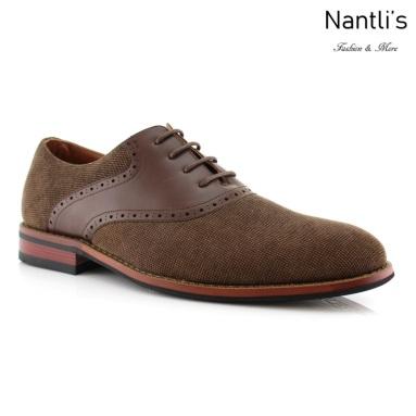 Zapatos para Hombre FA-BAXTER Brown Mayoreo Wholesale Men's Fashion Shoes Nantlis