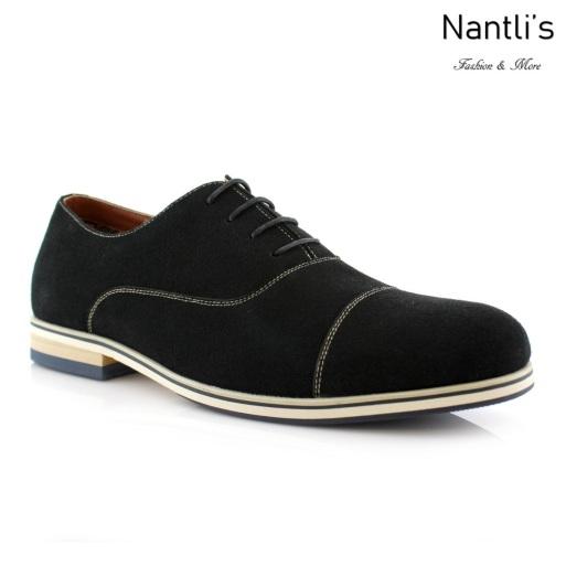 Zapatos para Hombre FA-BERNIE Black Mayoreo Wholesale Men's Fashion Shoes Nantlis
