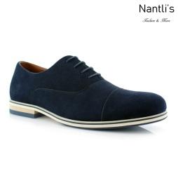 Zapatos para Hombre FA-BERNIE Blue Mayoreo Wholesale Men's Fashion Shoes Nantlis