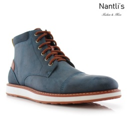 Zapatos para Hombre FA-BIRT Blue Mayoreo Wholesale Men's Fashion Shoes hi-top Sneakers Nantlis