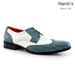 Zapatos para Hombre FA-CARL Blue Mayoreo Wholesale Men's Fashion Shoes Nantlis