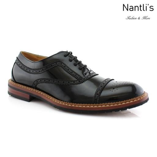 Zapatos para Hombre FA-CHARLIE Black 530 Mayoreo Wholesale Men's Fashion Shoes Nantlis