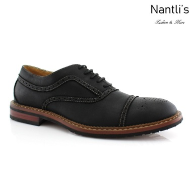 Zapatos para Hombre FA-CHARLIE Black 535 Mayoreo Wholesale Men's Fashion Shoes Nantlis