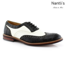 Zapatos para Hombre FA-COOPER Black Mayoreo Wholesale Men's Fashion Shoes Nantlis
