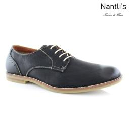 Zapatos para Hombre FA-CRUZ Black Mayoreo Wholesale Men's Fashion Shoes Nantlis