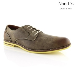 Zapatos para Hombre FA-CRUZ Brown Mayoreo Wholesale Men's Fashion Shoes Nantlis