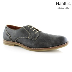 Zapatos para Hombre FA-CRUZ Grey Mayoreo Wholesale Men's Fashion Shoes Nantlis
