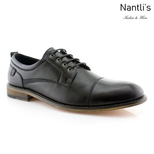 Zapatos para Hombre FA-DAMIAN Black Mayoreo Wholesale Men's Fashion Shoes Nantlis