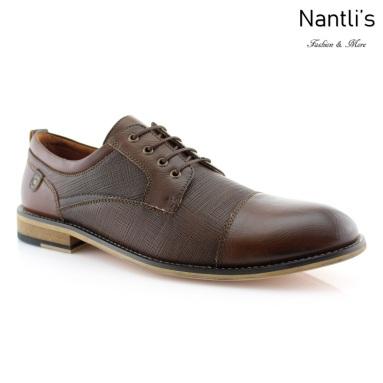 Zapatos para Hombre FA-DAMIAN Brown Mayoreo Wholesale Men's Fashion Shoes Nantlis