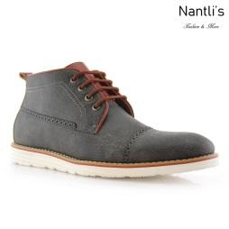 Zapatos para Hombre FA-DONOVAN Grey Mayoreo Wholesale Men's Fashion Shoes hi-top Sneakers Nantlis