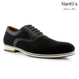 Zapatos para Hombre FA-EDMONDS Black Mayoreo Wholesale Men's Fashion Shoes Nantlis