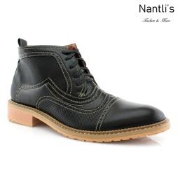 Zapatos para Hombre FA-ETHAN Black Mayoreo Wholesale Men's Fashion Shoes Chukka Boots Nantlis