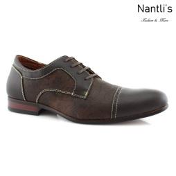 Zapatos para Hombre FA-FERNANDO Dark Brown Mayoreo Wholesale Men's Fashion Shoes Nantlis
