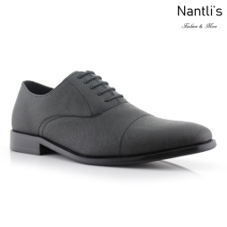 Zapatos para Hombre FA-GARRETT Black Mayoreo Wholesale Men's Fashion Shoes Nantlis