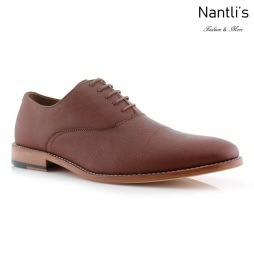 Zapatos para Hombre FA-GARRETT Brown Mayoreo Wholesale Men's Fashion Shoes Nantlis