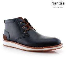 Zapatos para Hombre FA-HOUSTAN Blue Mayoreo Wholesale Men's Fashion Shoes hi-top Sneakers Nantlis