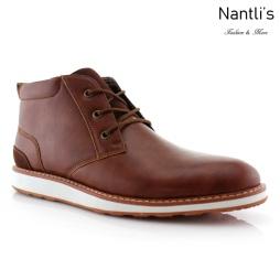 Zapatos para Hombre FA-HOUSTAN Brown Mayoreo Wholesale Men's Fashion Shoes hi-top Sneakers Nantlis