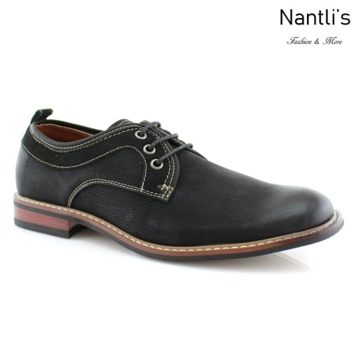 Zapatos para Hombre FA-HUDSON Black Mayoreo Wholesale Men's Fashion Shoes Nantlis