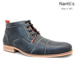 Zapatos para Hombre FA-HUGH Blue Mayoreo Wholesale Men's Fashion Shoes Chukka Boots Nantlis