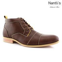Zapatos para Hombre FA-HUGH Dark Brown Mayoreo Wholesale Men's Fashion Shoes Chukka Boots Nantlis