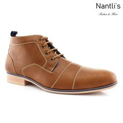 Zapatos para Hombre FA-HUGH Light Brown Mayoreo Wholesale Men's Fashion Shoes Chukka Boots Nantlis