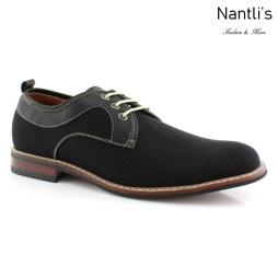Zapatos para Hombre FA-ISAAC Black Mayoreo Wholesale Men's Fashion Shoes Nantlis