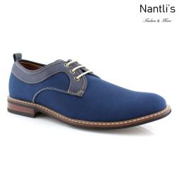 Zapatos para Hombre FA-ISAAC Blue Mayoreo Wholesale Men's Fashion Shoes Nantlis