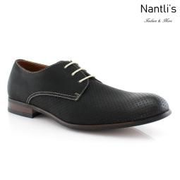 Zapatos para Hombre FA-ISAIAH Black Mayoreo Wholesale Men's Fashion Shoes Nantlis