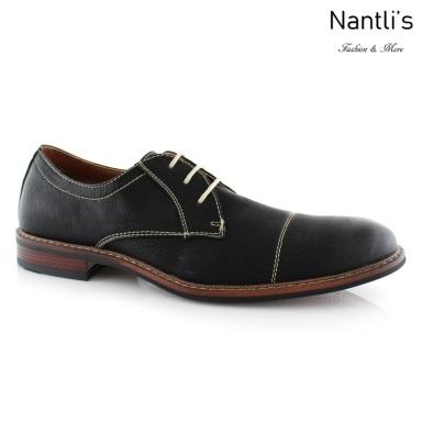 Zapatos para Hombre FA-JASON Black Mayoreo Wholesale Men's Fashion Shoes Nantlis