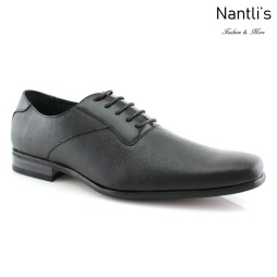 Zapatos para Hombre FA-JAVIER Black Mayoreo Wholesale Men's Fashion Shoes Nantlis