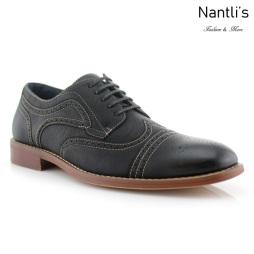 Zapatos para Hombre FA-JOE Black Mayoreo Wholesale Men's Fashion Shoes Nantlis