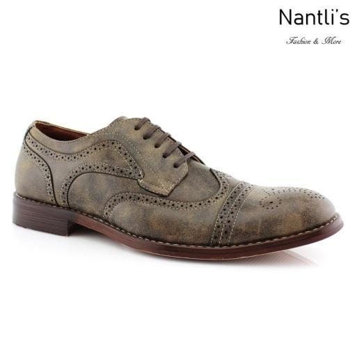 Zapatos para Hombre FA-JOE Brown Mayoreo Wholesale Men's Fashion Shoes Nantlis