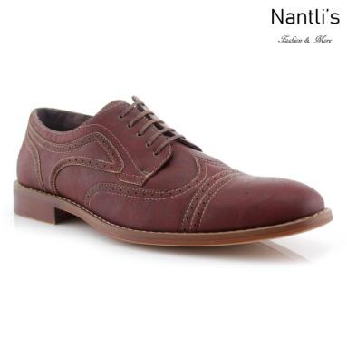 Zapatos para Hombre FA-JOE Wine Mayoreo Wholesale Men's Fashion Shoes Nantlis