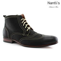 Zapatos para Hombre FA-JOHN Black Mayoreo Wholesale Men's Fashion Shoes Chukka Boots Nantlis