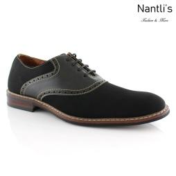 Zapatos para Hombre FA-JORDAN Black Mayoreo Wholesale Men's Fashion Shoes Nantlis