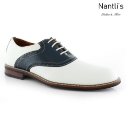 Zapatos para Hombre FA-JORDAN White-Blue Mayoreo Wholesale Men's Fashion Shoes Nantlis