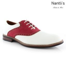 Zapatos para Hombre FA-JORDAN White-Red Mayoreo Wholesale Men's Fashion Shoes Nantlis