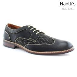 Zapatos para Hombre FA-JOSEPH Black Mayoreo Wholesale Men's Fashion Shoes Nantlis