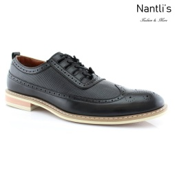 Zapatos para Hombre FA-JOSH Black Mayoreo Wholesale Men's Fashion Shoes Nantlis