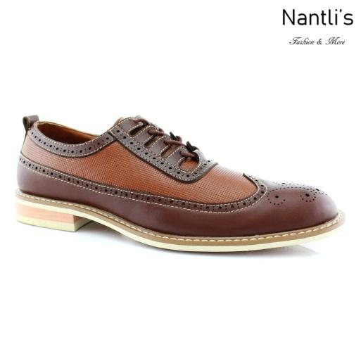 Zapatos para Hombre FA-JOSH Brown Mayoreo Wholesale Men's Fashion Shoes Nantlis