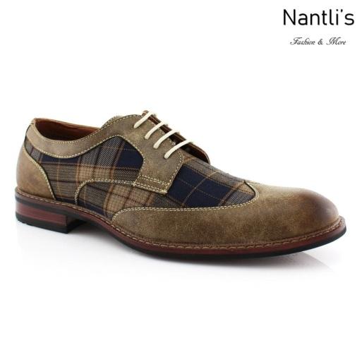 Zapatos para Hombre FA-JULIAN Brown Mayoreo Wholesale Men's Fashion Shoes Nantlis