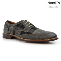 Zapatos para Hombre FA-JULIAN Grey Mayoreo Wholesale Men's Fashion Shoes Nantlis